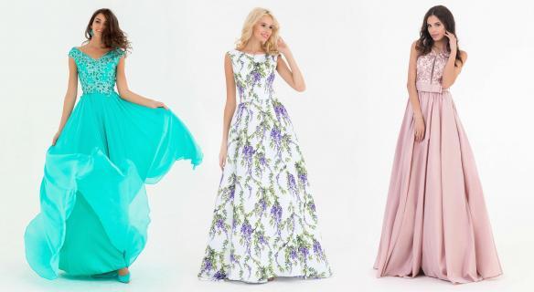 Модные выпускные платья 2020