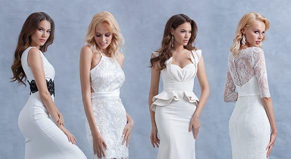 Свадебные платья «Русалка» – для смелых и стильных невест