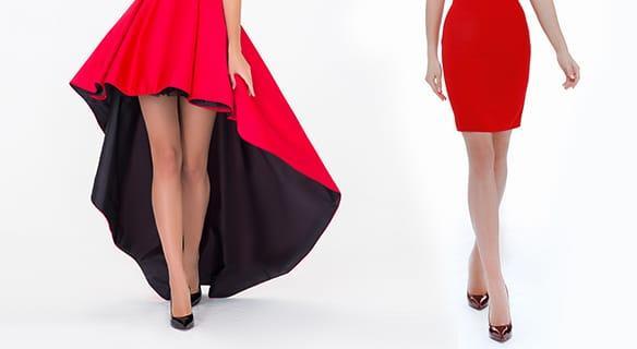 Идеальная длина платья: какая она?