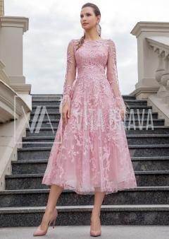 Вечернее платье Alba5546midiS