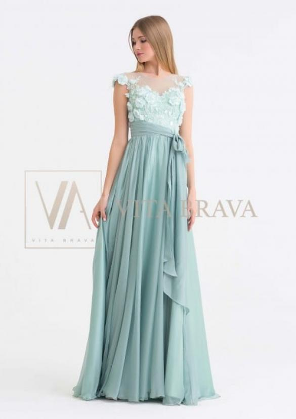 Свадебное платье L22661 #9
