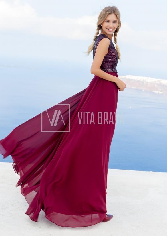 Вечернее платье Vittoria4727A #1