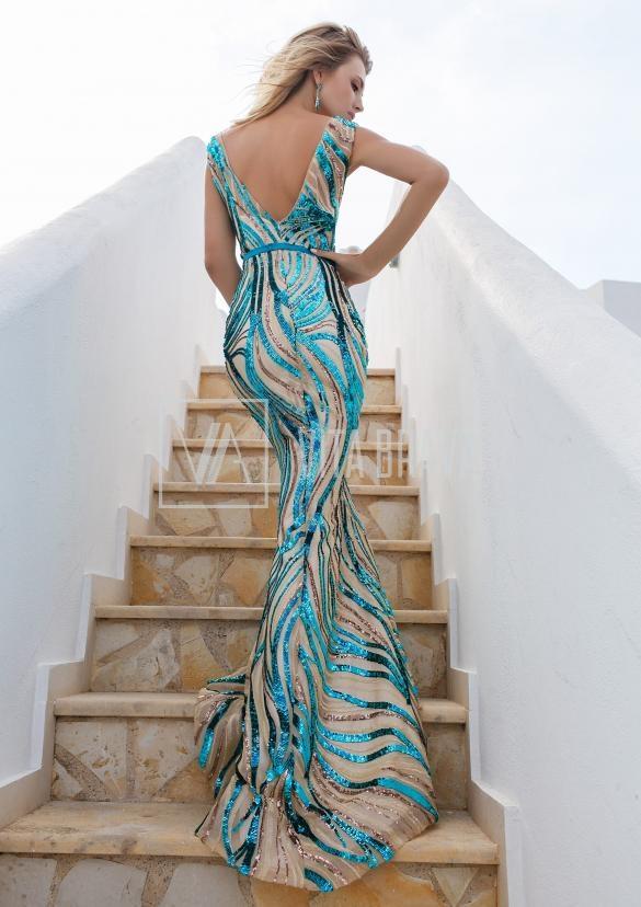 Вечернее платье Vittoria4619 #4