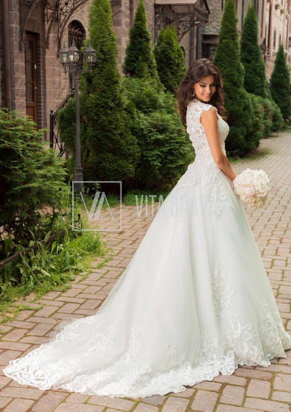Свадебное платье WH5444 #5